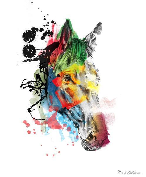 Horse Portrait 2