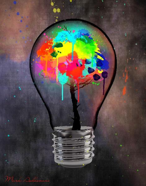 Light Bulb Tree