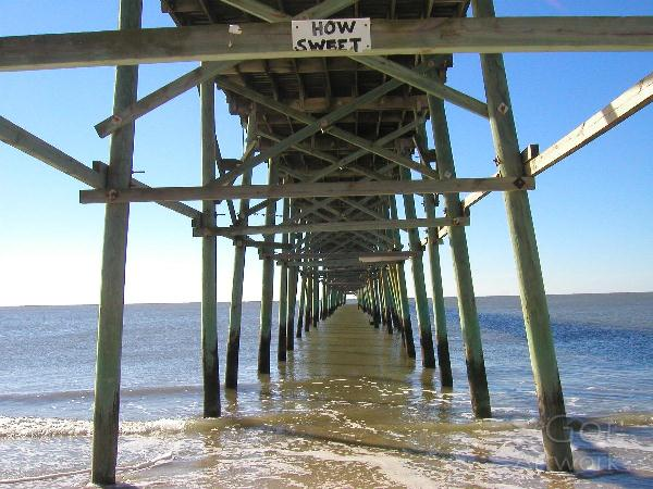 Oak Island Fishing Pier
