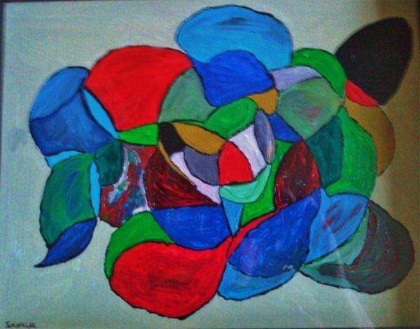 Modern Abstract Molecules