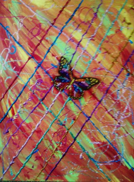 Modern Abstract Butterfly