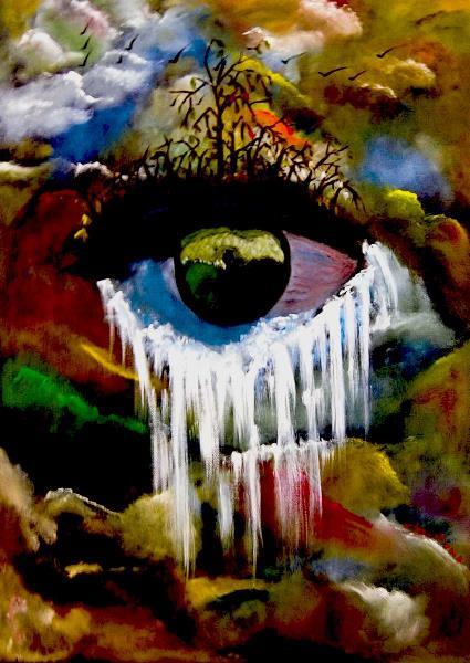 Tears And Waterfall