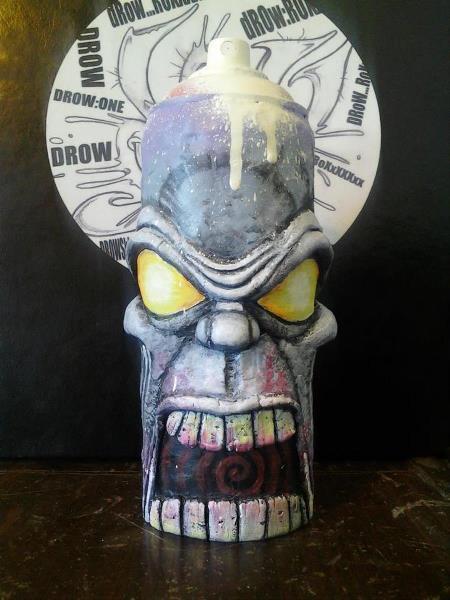 Zombie Spraycan