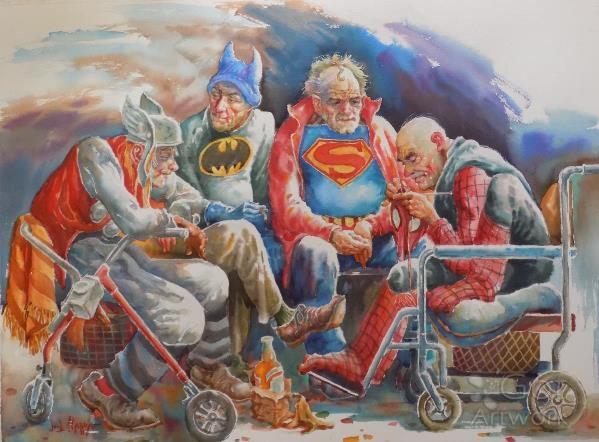 Super Heroes-Retired