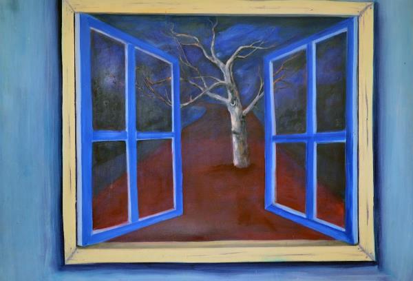 Workin Progress Oil On Canvas