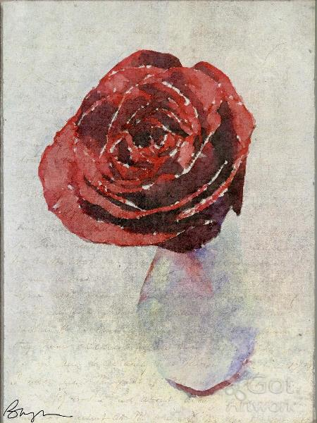 Rose With Texture I