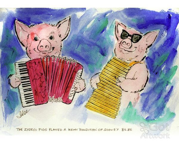 Zydeco Pigs