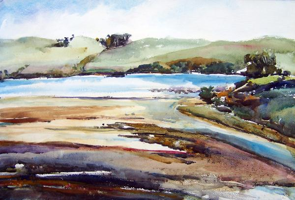 Tomales Bay Mud Flats