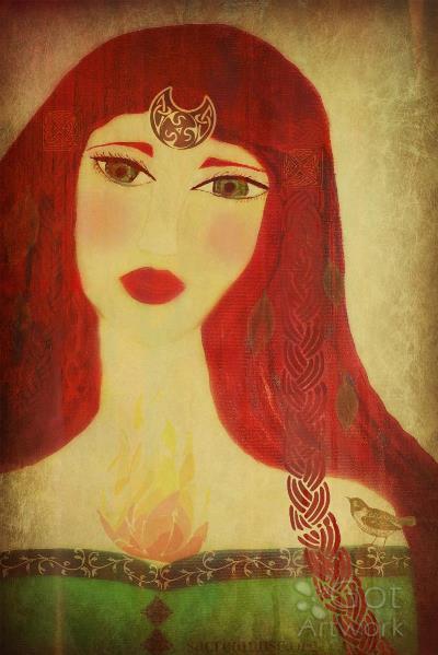 Brighid Celtic Goddess