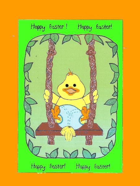 Easter Card Idea Doodle