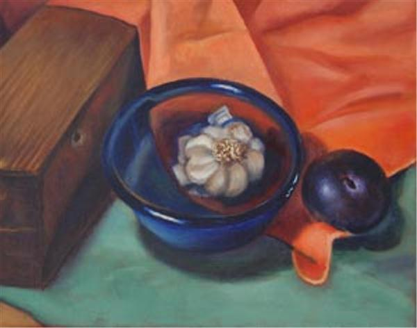 Bluebowl Still Life