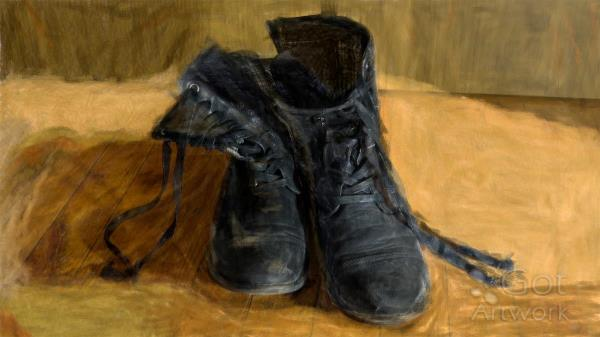 """""""Shoes"""" An Art Piece Inspired By Vincent Van Gogh"""
