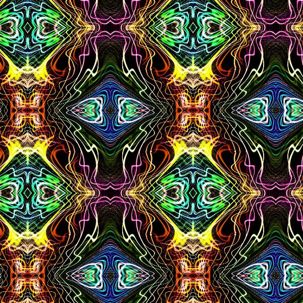 Neon Pinstripes1 A
