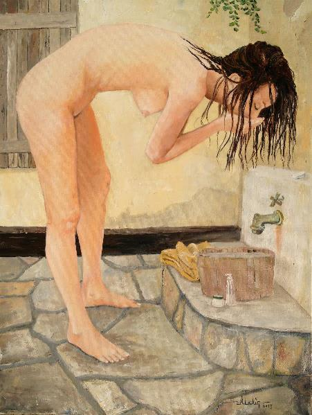 The Girl With The Golden Towel