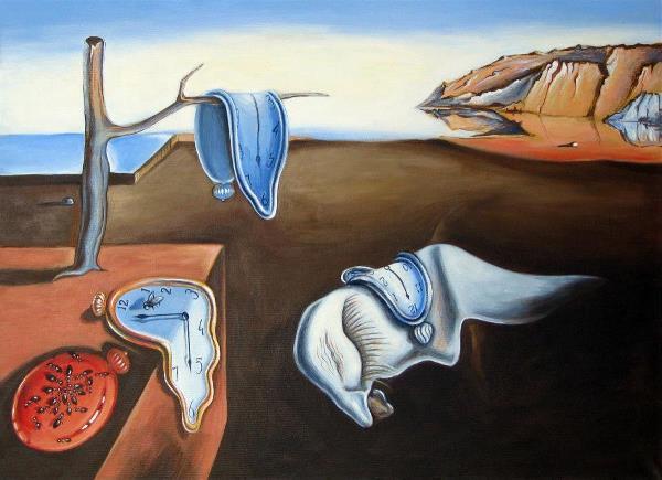 "Copy Of Salvador Dali ""Time Persistance"""