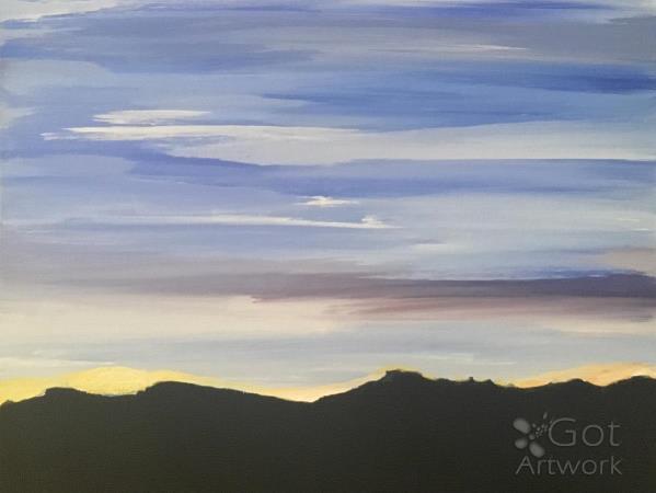 Pale Desert Sky