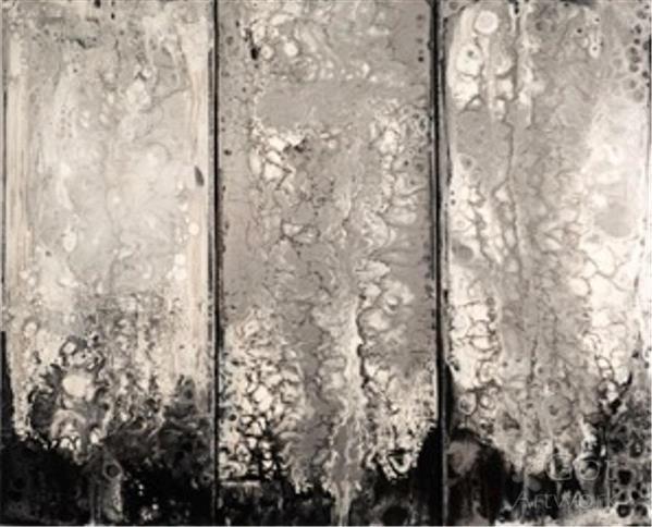 Molten Silver ( Triptych)