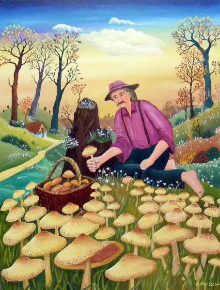 Harvesting Mushrooms