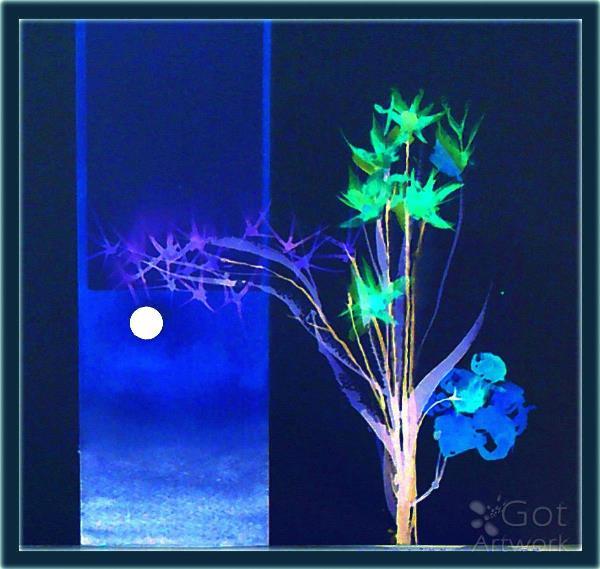 Moonlit Flowers 2