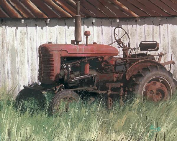 Farmall Tractor Painting : Super a farmall painting by frosty rankin gotartwork