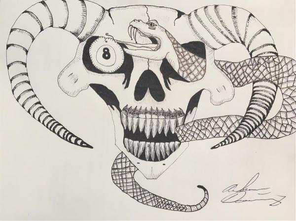 Demonic Snake