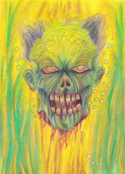 Zombie Art Illustration