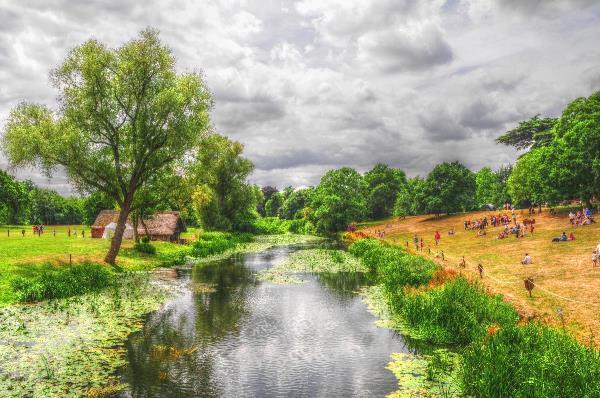 Fine Art Photograph Of The River Avon In Warwickshire, England