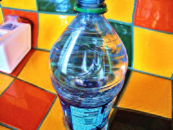 A Bottle Distorted
