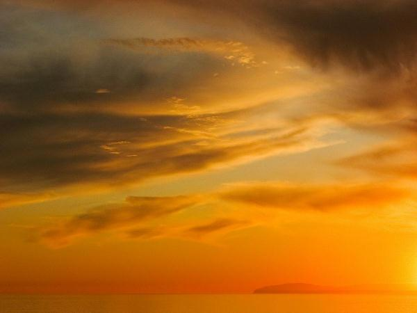 Golden Sunset At C