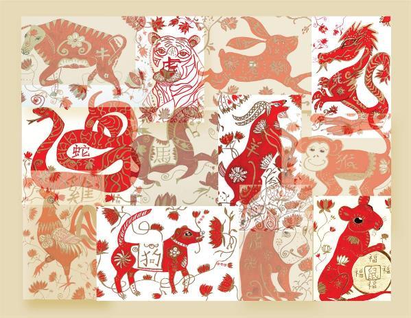 12 Chinese Anima LCollege