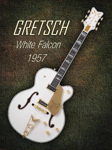 Gretsch  White Falcon 1957