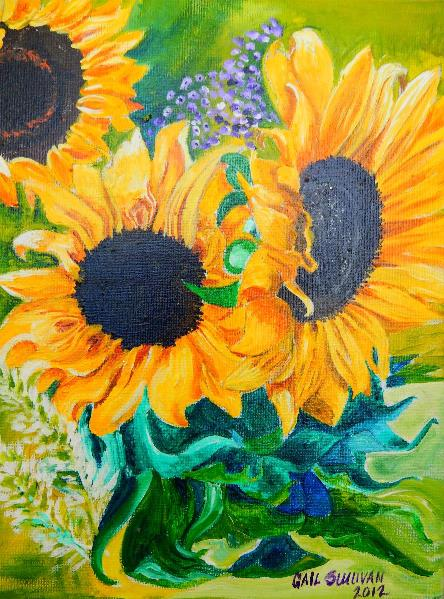 Sunflowers In Virginia
