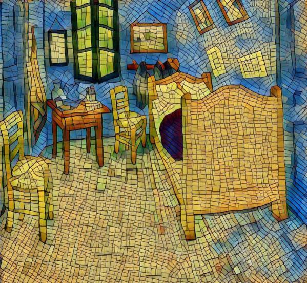 Van Gogh's Bedroom 2