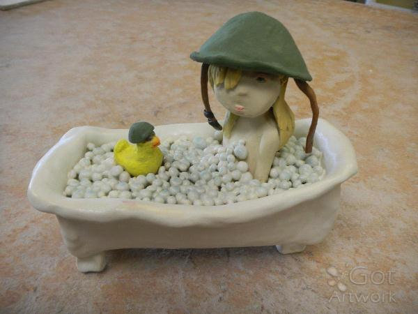 Bathtub Warrior I