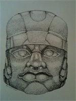 Olmec Stone Sculpture