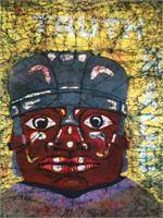 The Gurdian-Olmec As Greeting Card