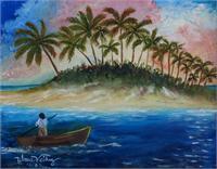 La Isla As Framed Poster