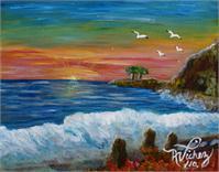 La Playa As Framed Poster