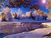 Winter Glory As Framed Poster
