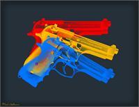 Guns As Framed Poster