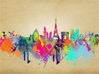 Paris As Framed Poster