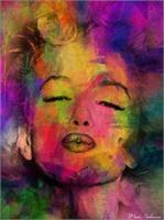 Marilyn Monroe As Framed Poster