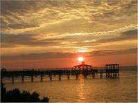 Coastal Carolina Sunrise As Greeting Card
