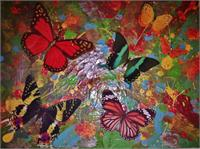Fly Of The Butterflies