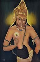 Padmapani- Young Buddha As Framed Poster