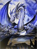 Dragon Blue By Omegaman