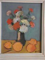 Oil Painting - Flowers On A Table