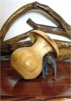 Aspen Mushroom Vase As Greeting Card