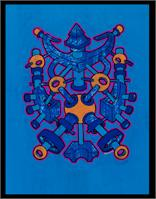 Neon Chakra As Framed Poster
