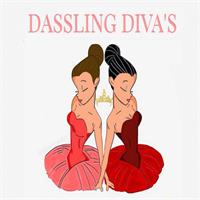 Dassling Diva S As Greeting Card
